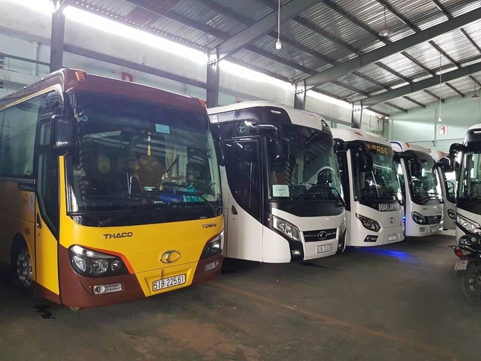 Cho thuê xe 29 chỗ đi Đồng Tháp