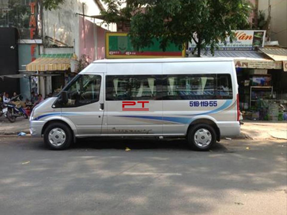 Cho thuê xe 16 chỗ đi Nha Trang