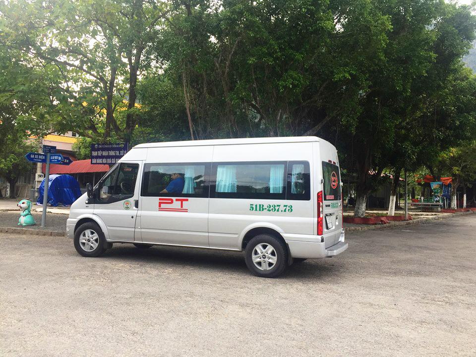Cho thuê xe 16 chỗ giá ưu đãi tại Tp.HCM