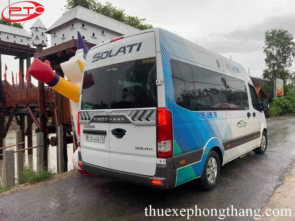 Cho thuê xe 16 chỗ đi Kiên Giang